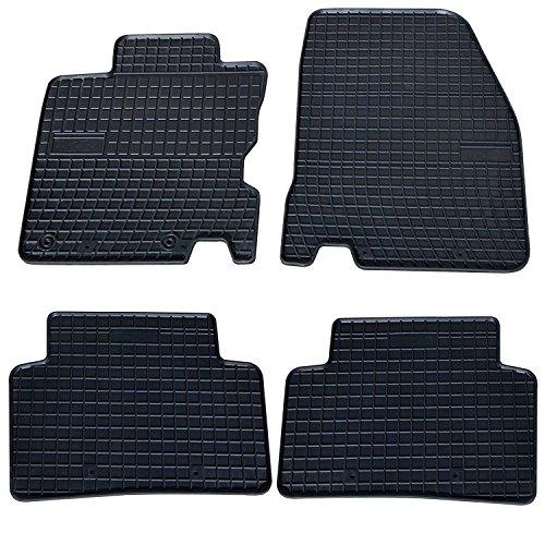 AME - Auto-Gummimatten Fußmatten, Geruch-vermindert, Passgenau und mit Anti-Rutsch-Oberfläche 546658et