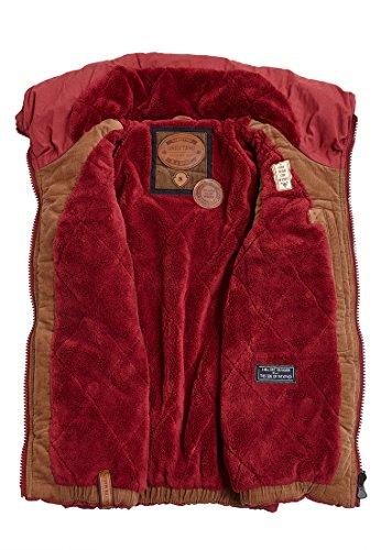Naketano Female Jacket Bademeister Flavour Bordo