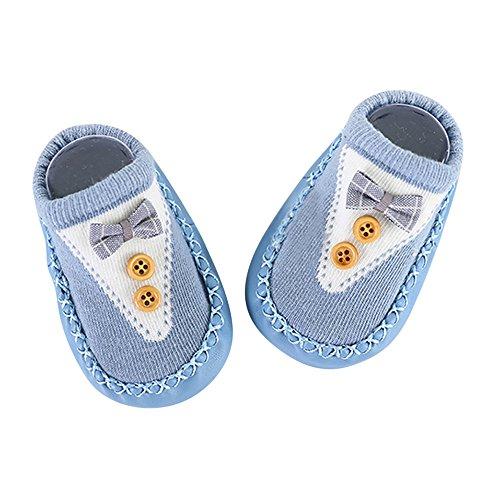 ❤️Amlaiworld Chaussettes Antidérapantes Souple Coton Fond Mou Chaussettes Enfant Chaussettes de Sol pour Bébé Garçon Fille 0-24Mois