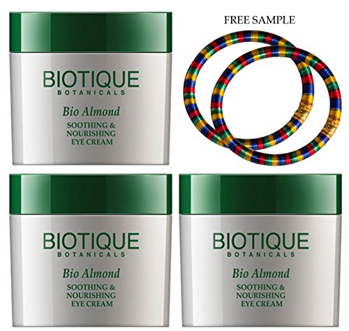 biotique-almond-under-eye-cream-for-dark-circles-puffiness-15g-pack-of-3-free-expedited-shipping-via