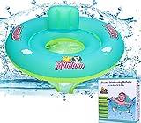 Milidom Baby Schwimmring I Baby Schwimmsitz 6 Monate - 3 Jahre bis 18 kg
