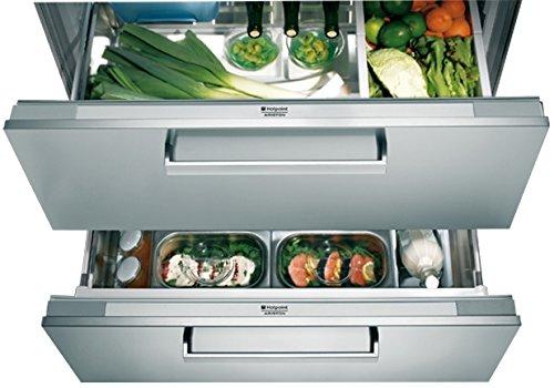 HOTPOINT-Ariston BDR 190Aai Kühlschrank 2Türen, 150L Klasse: A + Edelstahl -