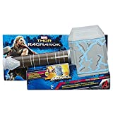Imagine wielding the hammer and possessing the powers of the Thor, God of Thunder! Kids can pretend to gear up like the Asgardian warrior and God of Thunder, Thor, with the Thor Rumble Strike Hammer! Featuring spring-activated sound effects, ...