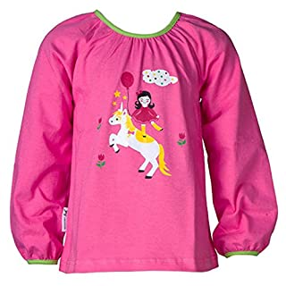JNY Colourful Kids Girls' Long-Sleeved Top Pink Pink -  Pink - 128 cm