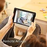 ANNKE IP Kamera Kompatibel mit Amazon Alexa,1080P HD Home WiFi Sicherheit Überwachungs kamera,Wi-Fi Indoor Überwachungskameras mit 2-Wege-Audio,Haustier,Baby-Monitor, Nachtsicht, Bewegungserkennung - 4