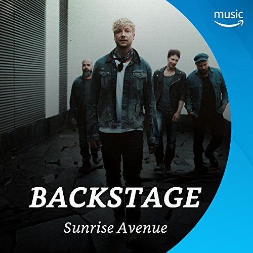 Backstage mit Sunrise Avenue