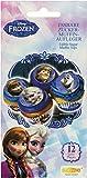 Decocino Muffinaufleger Frozen HOCHWERTIGE Kuchendeko von DEKOBACK | essbare Muffinaufleger | Disney Frozen Backdeko | 12 Stück | 1er Pack (1 x 21 g) | Eiskönigin Muffin und Kuchen Deko kaufen