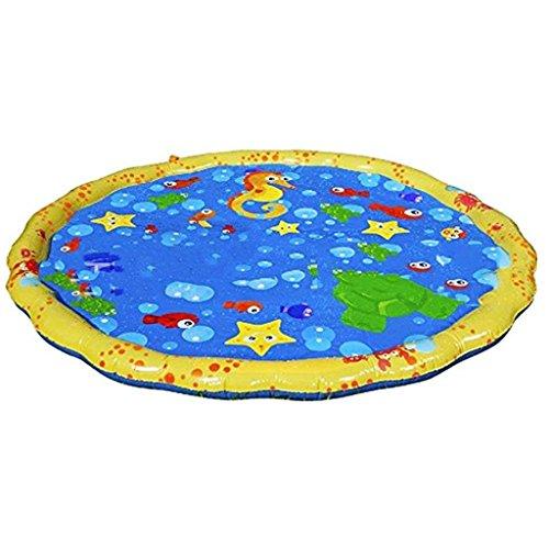 Splash Spielmatte, Aufblasbare Wasser Sprinkler Pad Sommer Outdoor - Spaß Wasser Spielzeug Für Kinder / Hund / Katze / Haustiere-Spaß Für Familien, Freunde Und Pool Parteien ()