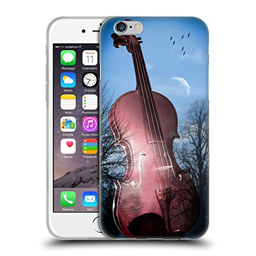 Offizielle Mark Ashkenazi Violin Musik Soft Gel Hülle für Apple iPhone 6 / 6s