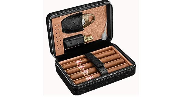 Ouvre Trou Cigare avec Caoutchouc Clip Extraction Trou Cigar Accessoires BYFRI Perforation Froid Cigare avec Anneau de Suspension cl/é