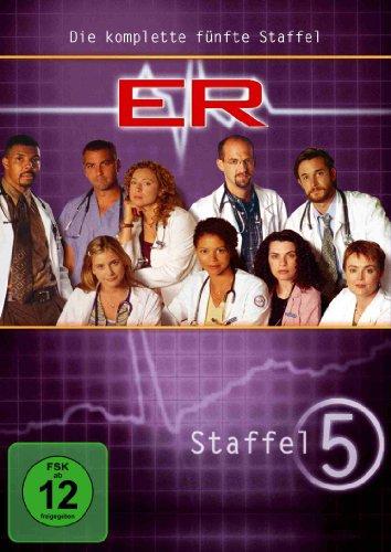 ER - Emergency Room, Staffel 05 [6 DVDs] (George Tv-serie Clooney)