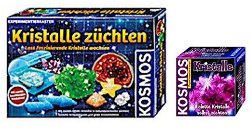 KOSMOS Kristalle züchten + Kristalle violett
