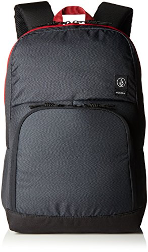 Volcom Volcom Roamer Backpack Rucksack - Zaini Unisex �?Adulto, Grau (Stealth), 16x32x47 cm (B x H T) Grigio (Stealth)
