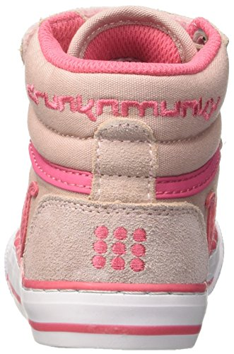 DrunknMunky Boston Vitaminix, Chaussures de Tennis fille Rosa (Light Pink/Rose)