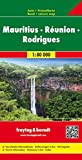 Freytag Berndt Autokarten, Mauritius - Reunion - Rodriguez 1:80.000: Touristische Informationen. Ortsregister. Cityplan (freytag & berndt Auto + Freizeitkarten)