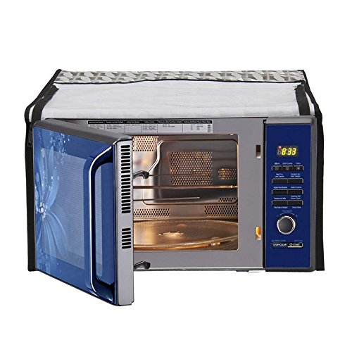 Glassiano Printed Microwave Oven Cover for Samsung 20L Solo Model (MW73AD -B/XTL)  available at amazon for Rs.399