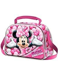 Karactermania Minnie Mouse Bubblegum  Bolsos Escolares, 26 cm, Rosa