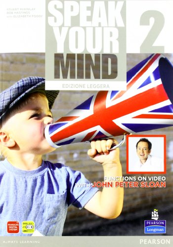 Speak your mind. Student's book-Workbook. Ediz. leggera. Per le Scuole superiori. Con CD Audio. Con espansione online: 2