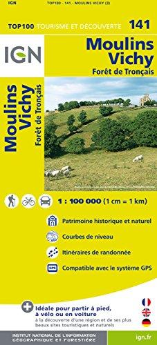 Top100141 Moulins/Vichy 1/100.000
