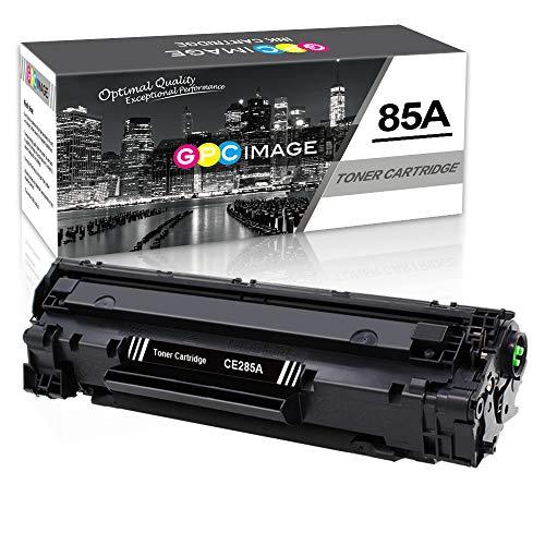 GPC Image kompatible Toner als Ersatz für HP CE285A 85A für Laserjet Pro P1102W P1102 P1106 P1108 P1109 P1109W M1130 M1136 M1132 M1130 M1132 M1136 M1210 M1210MFP M1212(Schwarz, 1er-Pack,1600 Seiten) - 1600 Inkjet