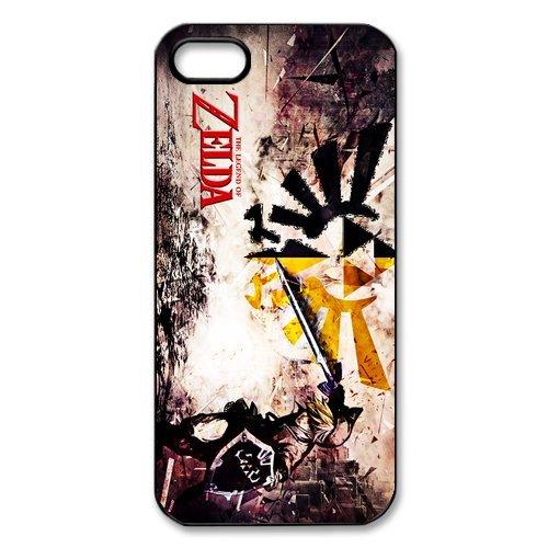 The Legend of Zelda en silicone TPU pour Apple iPhone 5S, iPhone 5S Coque de protection rigide Case Cover, iPhone 5, beau design Coque de protection pour Apple iPhone 5/5S