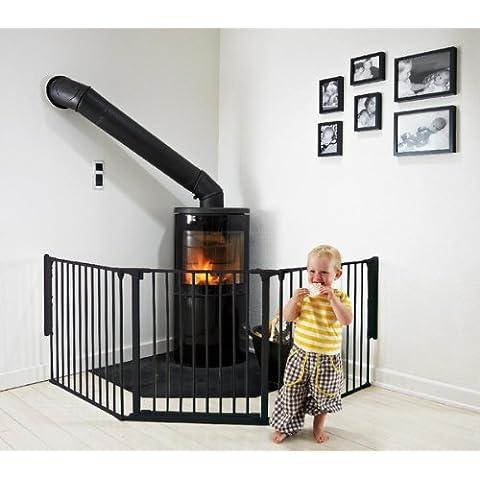 Baby Dan - Barrera de Seguridad Flex L negro