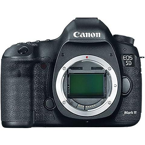 Canon EOS 5D Mark III - Cámara digital (Auto, Nublado, Modos personalizados, Luz de día, Flash, Fluorescente L, Sombra, Tungsteno, Película, Imagen única, Presentación de diapositivas, Electrical, Batería, Juego de cámara SLR,