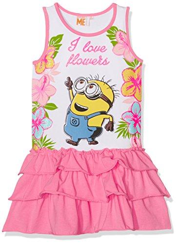 Minion Kleid (Minions Despicable Me Mädchen Kleid - pink -)