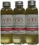 Romantic Massage Oil Gift Set 3 x 60ml Sensual Aromatherapy