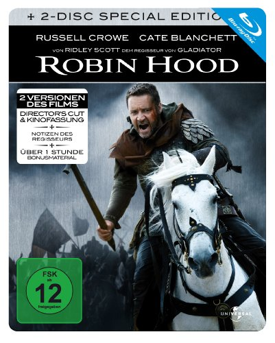 Robin Hood - Steelbook (2 Disc Edition) [Blu-ray] [Special Edition]