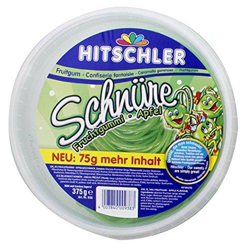 Hitschler - Apfel-Schnüre Fruchtgummi - 375g