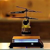 la sua levitazione è molto più che un'illusione ottica. Galleggia impossibile a mezz'ariausando una combinazione di scienza e magia.Il display magnetico che utilizza l'effetto magnetico corrente fa galleggiare la piastra del display a mezz'ar...