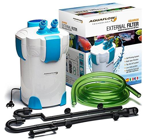 Aquaflow-Technology-AEF-303UV-Filtro-externo-35W-1400LH-CON-UV-UVC-9W-del-tanque-de-pescados-del-acuario-Max-300L