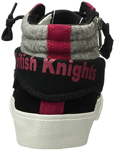British Knights - Rigit, Scarpe da ginnastica Donna Nero (Schwarz (Black/Fuchsia 03))