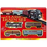 Train Set With Tracks Battery Operated
