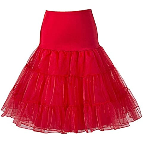 Queenshiny® Retro Underskirt / '50 dell'oscillazione Vintage