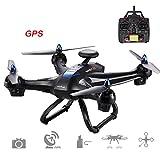 Jiayuane (Non Carmera) Drone X183 global avec 5GHz, GPS sans brosse Quadcopter Flying Time15-20mins, GPS sigue automáticamente
