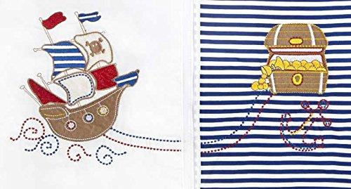 Slumbersac Saco de dormir de niño pequeño Invierno manga larga aprox. 3.5 Tog, Piratas, 3-6 años/130 cm