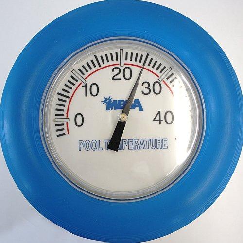 Pool Schwimmthermometer blau ca. 18 cm D