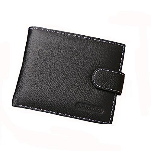 Portefeuille Pliant Porte Carte de Crédit pour Homme