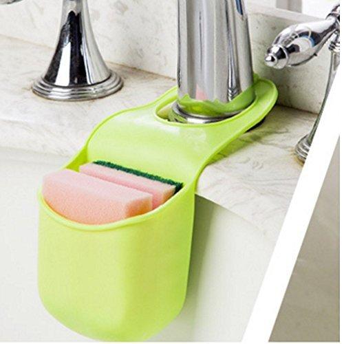 Zah zum Aufhängen Seife Box Kunststoff Seifenhalter Seife Tasche für Dusche, Küche, plastik, grün, Standard (Kunststoff-soap-tasche)