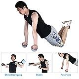 3 in 1 Liegestützgriffe Push Up Stand Bar drehbare mit elastischen Seil indoor Sport /Boxen/Brustmuskulatur von WEINAS