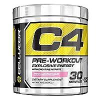 Cellucor C4 Pre Workout Supplement Pink Lemonade, 195 g