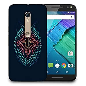 Snoogg Abstract Fox Designer Protective Back Case Cover For MOTO X STYLE