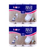 #8: Paseo Bathroom Tissue 8 rolls 3 ply Pack Of 2