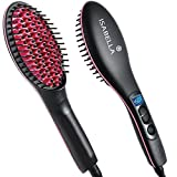 #8: Isabella Simply Straight 2 In 1 Ceramic Hair Straightener Brush