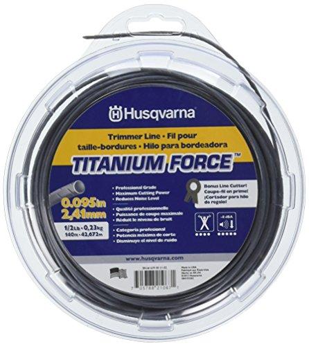 Grade Trimmer Line (Husqvarna 639005102Titan Force Rasentrimmer Line .095-inch von 1/Schlosserhammer, Donut)