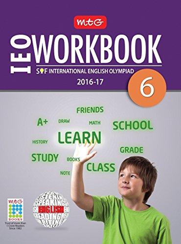 MTG International English Olympiad (IEO) Work Book - Class 6