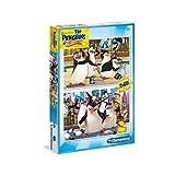 Clementoni Puzzle Pinguine aus Madagaskar 2x60pz