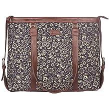 Zouk Office Bag for Women – Handmade Bags for 15.6 inch Laptop, Macbook - Vegan Leather Handbags - Perfect Laptop Bag for Ladies